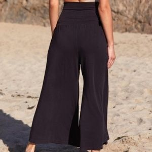 Free People Pants - Free People Movement Willow Wide-Leg Pants